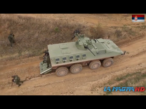 New Lazar-2 8×8 multi-role military vehicle for Serbian Army