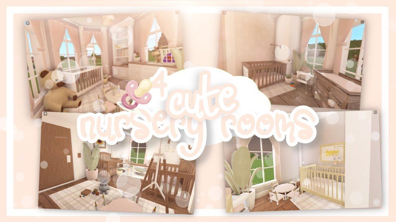 bloxburg :: 4 CUTE nursery room ideas !! bloxburg baby ...