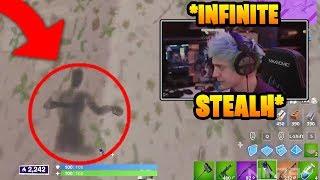 Ninja Found *NEW* Shadow Bomb Exploit In Scrim Game! | Fortnite Funny Moments #98