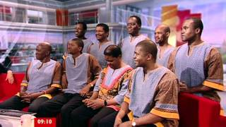 Ladysmith Black Mambazo on BBC Breakfast
