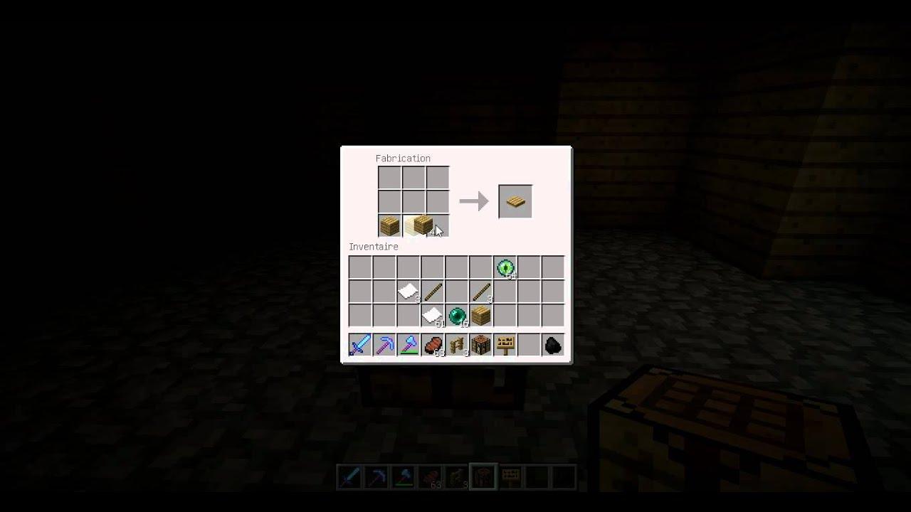Dalle De Bois Minecraft : Mincraft Demi