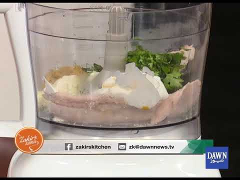 "Zakir's Kitchen - 24 October 2018 "" fish mousse"""