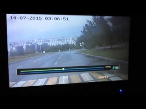 Автомобиль ДПС перевернулся в Красноярске.