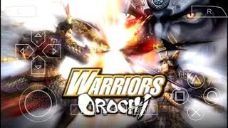 Cara Download Game Warriors Orochi PPSSPP Android