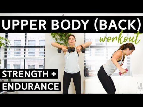 Upper Body Workout (Back Focus) for Endurance + Strength