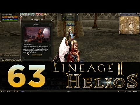 Lineage 2: Helios - Episode 63 - Class Transfer To Cardinal