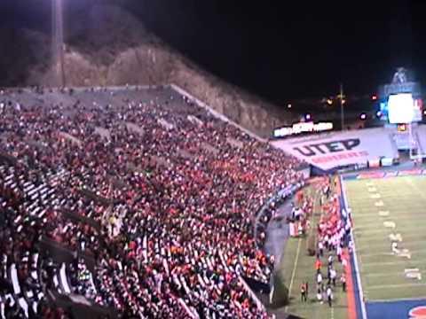Sun Bowl Stadium UTEP vs SMU 2012