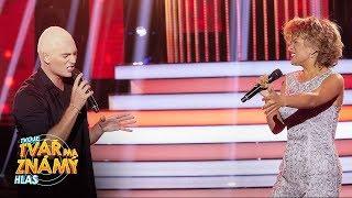 Tereza Mašková &Kopečný jako Tina Turner &Ramazzotti