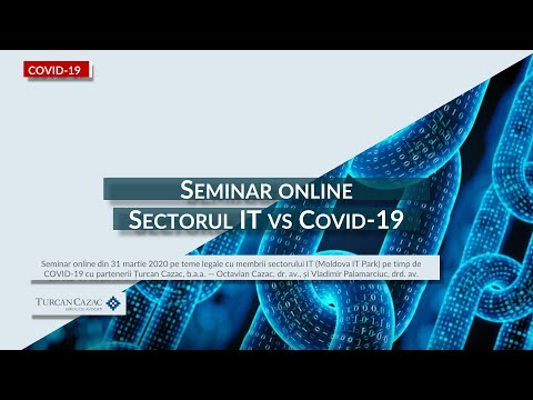 Sectorul IT vs COVID-19 — Seminar Juridic (MD)