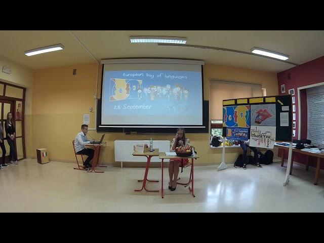 Europejski Dzień Języków Obcych - skecz