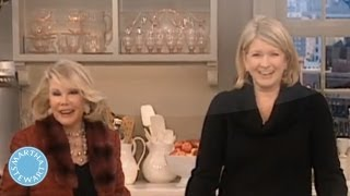 Homemade Hummus Dip With Joan Rivers⎢martha Stewart