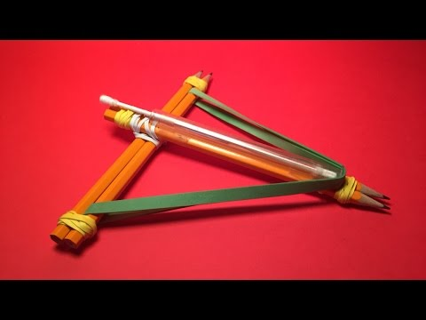 Make a Fun and Safe Crossbow - DIY Crafts - Guidecentral
