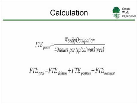 Printables Fte Calculation Worksheet leed fte youtube fte