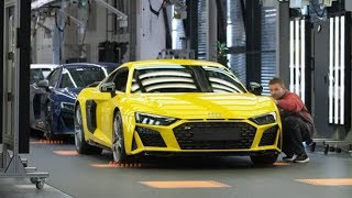 2020 Audi R8 Production - Sport Car Factory