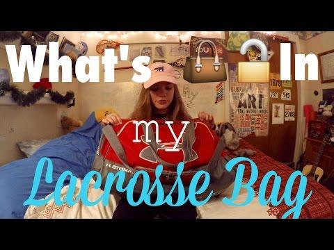 WHATS IN MY LACROSSE BAG 2016! | LaxGirlsWorld