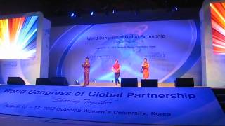 Rasa Sayang (Performance in Global Congress in Duksung University Korea ) by Malaysia Team
