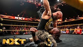 Tommaso Ciampa and Johnny Gargano take down Aleister Black and Ricochet: WWE NXT, Jan. 23, 2019