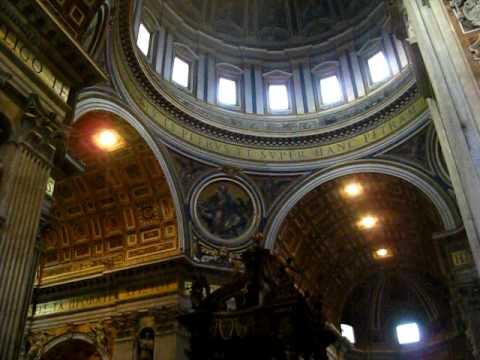 Thoughts upon my Arrival at St. Peter's Basilica, Rome