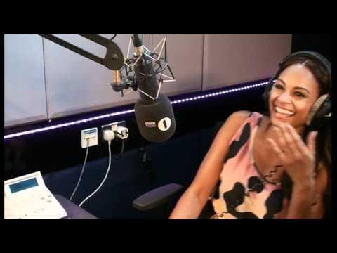 Alesha Dixon loses it on the Chris Moyles Show