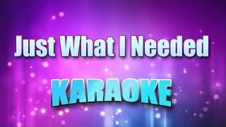 Cars - Just What I Needed (Karaoke & Lyrics)