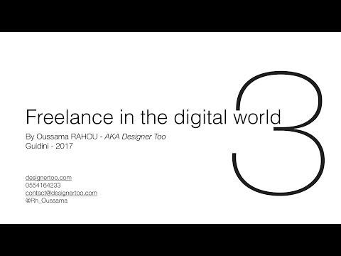Freelance in the digital world - Part3