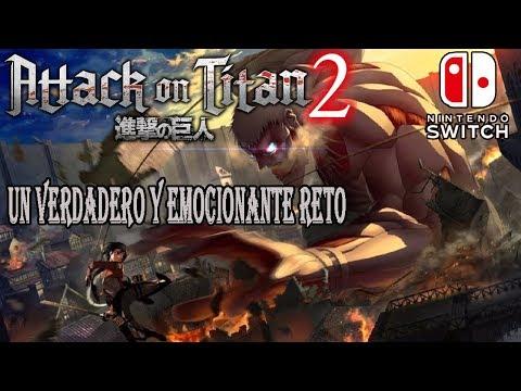 ATTACK ON TITANS 2. GAMEPLAY NINTENDO SWITCH - UN DESAFÍO EMOCIONANTE