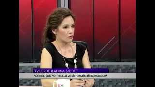 Kadına yönelik şiddet ve medyanın etkileri. İMC TV Mor Bülten