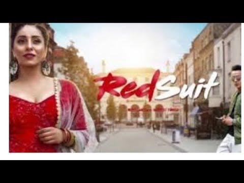 Neha Bhasin || Red suit || punjabi song...