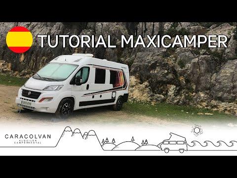 Weinsberg Carabus 601K Tutorial Maxi Camper Caracolvan Alquiler Camper Rental ES