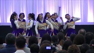 広島国泰寺高校チアリーディング部WITCHES@IPU開学10周年記念CHEER FESTA