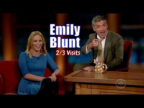 Emily Blunt - Craig Convinced Her Husband To Marry Her? - 2/3 Appearances In Chron. Order[HD]