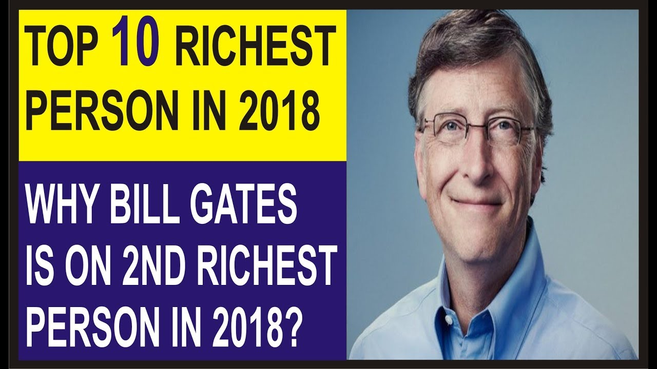The Most Richest Man In The World 2018 Top 10 Richest Man