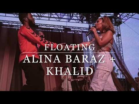 Floating | Alina Baraz + Khalid Piano Instrumental (W/ Lyrics)