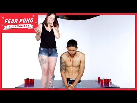 Fear Pong Tournament 2019: Round 2 (Young Dae Vs. Breanna) | Fear Pong | Cut