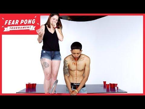 Fear Pong Tournament 2019: Round 2 (Dae vs. Breanna) | Fear Pong | Cut