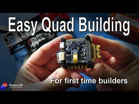 Quad Build for Beginners (S8.3): Choosing the flight controller, motors and ESCs