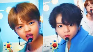 I put a BABY filter on BTS Jimmy Fallon HOME because why not