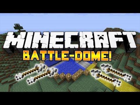 Minecraft Mini-Game: Battle-Dome! #7: w/BajanCanadian, Nooch, Woofless & Vikkstar