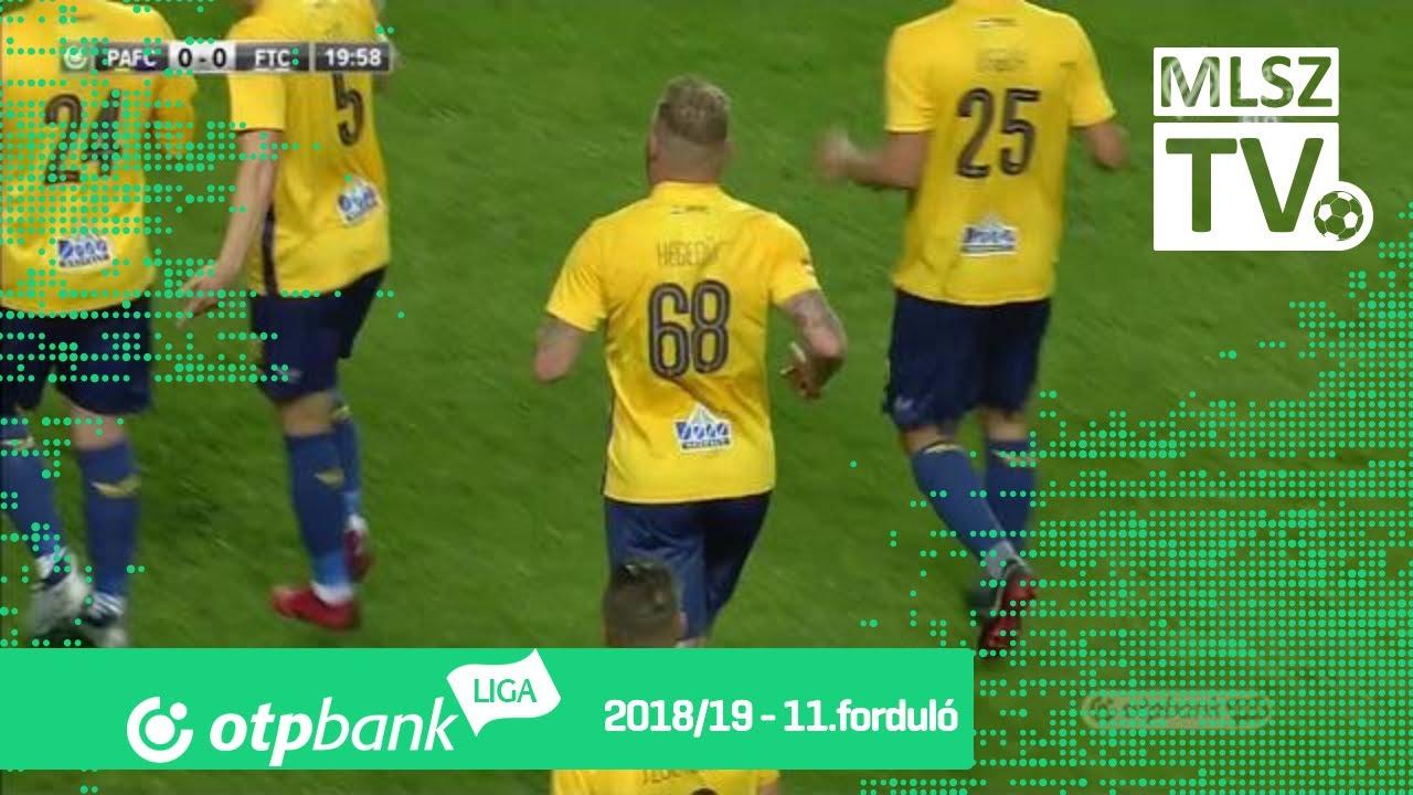 Hegedűs János Krisztián gólja a Puskás Akadémia FC  - Ferencvárosi TC mérkőzésen