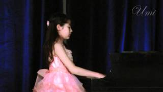 Umi Garrett, 11yr. - Chopin Scherzo No 1