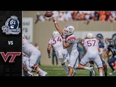Old Dominion vs. Virginia Tech Football Highlights (2017)