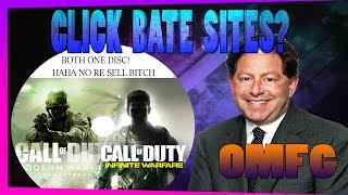 CoD Modern Warfare Remastered To Require Infinite Warfare Disc? CLICK BATE WEBSITES!?
