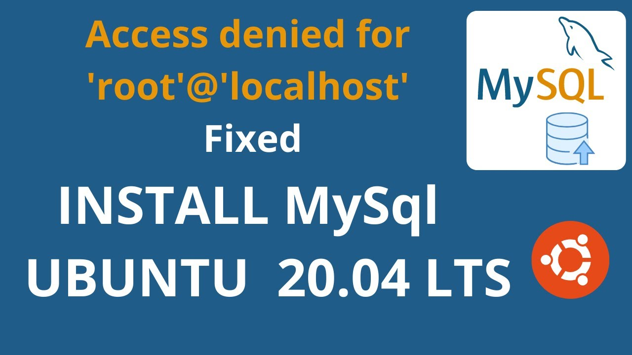 ERROR 1698 (28000): Access Denied for User 'root'@'localhost' Fixed