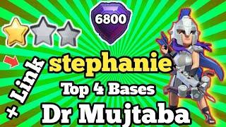 TOP 5 STEPHANIE ♥️ DR MUJTABA Th13 War BASE Anti 1 Star 2020 | TH13 CWL WAR BASE JULY 2020 W/LINK |