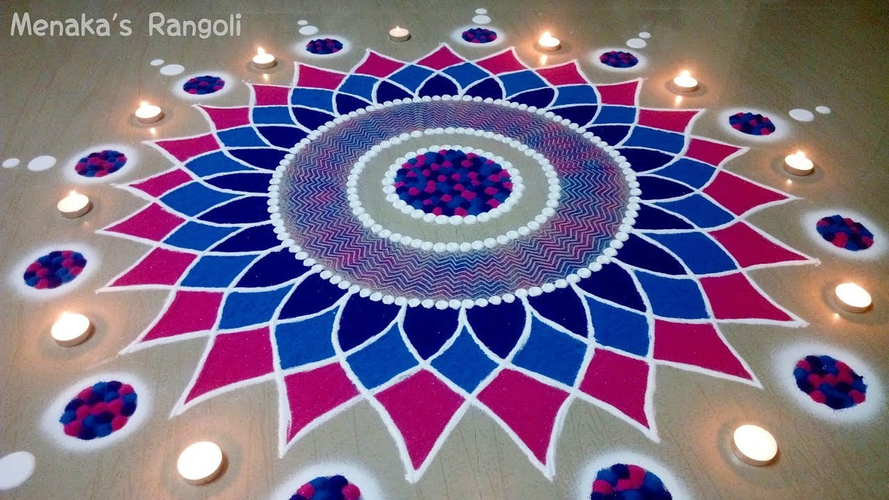 Diwali Rangoli Ideas: Beautiful Rangoli Design For Diwali