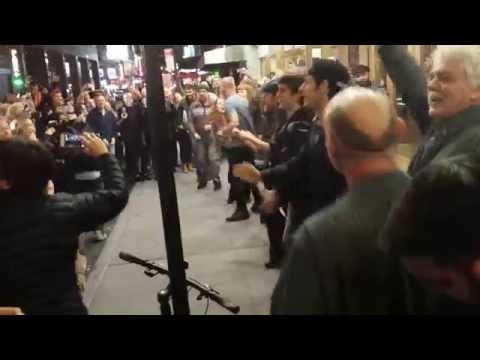 Sting Street Performance 10 11 2014
