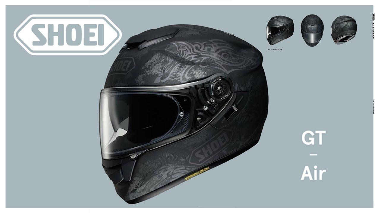 a7c06f30 SHOEI GT AIR - FABLE (TC5) Motorbike Helmet - YouTube