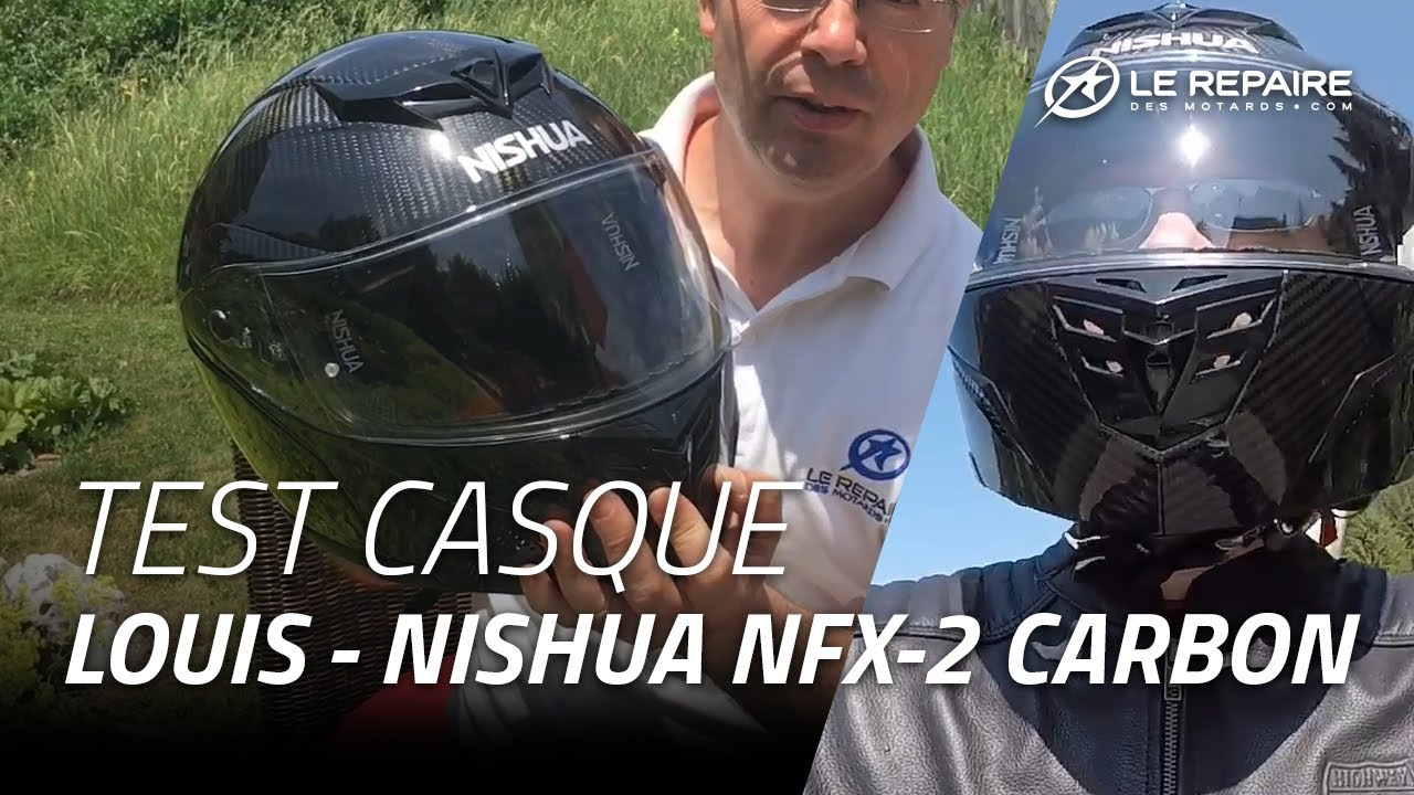 Test Casque Modulable Nishua Nfx 2 Carbon Youtube