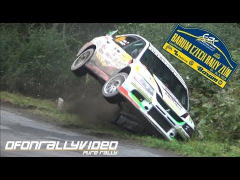 Barum Czech Rally Zlín 2018 Crashes & Action - ofonrallyvideo