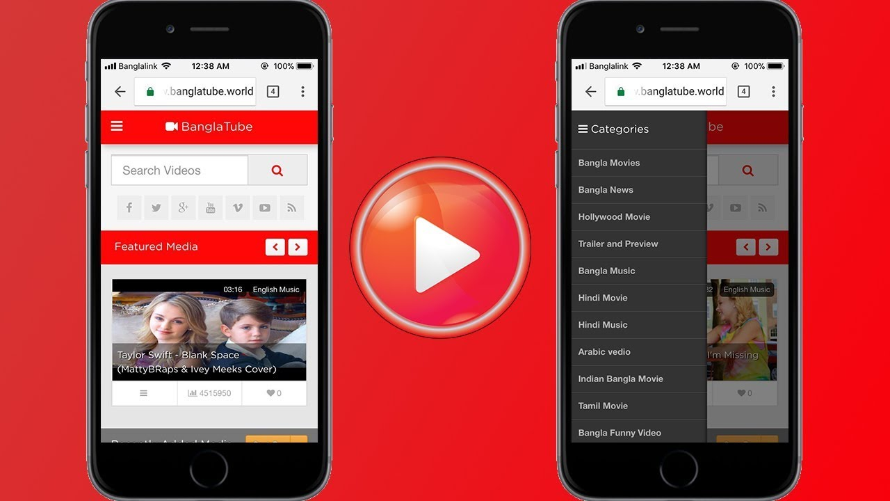 Bangla Tube Mobile Web IOS Technical Preview | Developed by theDaw